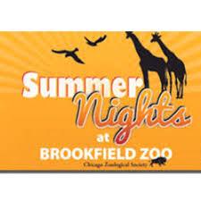 brookfield zoo logo.  Brookfield Brookfield Zoo Summer Nights Inside Zoo Logo