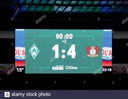 Which Shows The Final Score High Resolution Stock Photography and Images -  Alamy