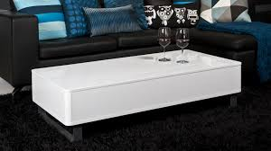 white rectangular coffee tables modern gloss rectangle table uk denza 1