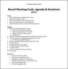 Sample Agendas For Board Meetings Nice Board Meeting Agenda Images Gallery Board Meeting Agenda