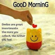 Good Morning And Smile Quotes