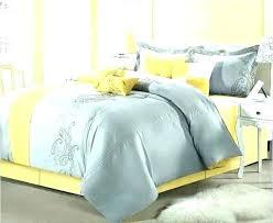 yellow and grey bed set duvet cover king gray sets uk park 6 p