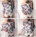 Блузки с вышивкой купить на алиэкспресс