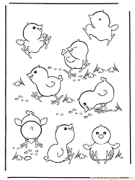 Best Baby Chick Coloring Pages Free Printable Baby Chick Coloring