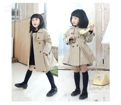 toddler pea coat boy fashion trench coat kids wind coat girls outwear long wind jacket toddlers
