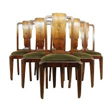 art deco dining chairs art deco mid century dining