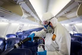 coronavirus flying lessons