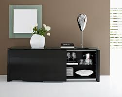 black contemporary dining room buffet furniture home xmas  home
