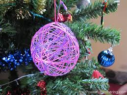 How To Make String Ball Decorations Custom How To Make String Ball Christmas Ornaments Hometalk