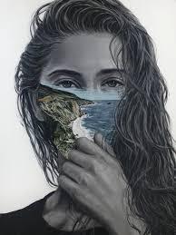Surreal Paintings Beautiful Surreal Paintings Juxtapose Human Portraits With