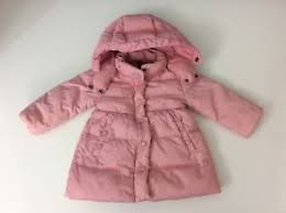 Image is loading Moncler-Baby-Girls-Pink-Down-Coat-Jacket-Age-