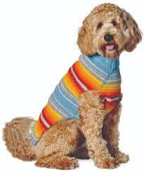 Turquoise Serape Dog Sweater