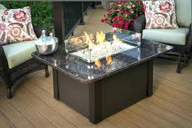 rectangle gas fire pit table rectangle gas fire pit table fire pit table ventura rectangle gas