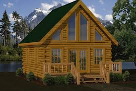 Small Picture Small Log Cabin Kits Floor Plans Cabin Series from Battle Creek