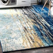 area rugs modern faded style inside blue rug ideas navy 8x10 full size