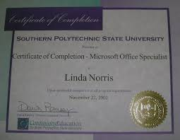 Administrative Professional Certificate Naures