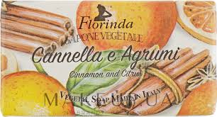 Florinda Cinnamon Citrus Natural <b>Soap</b> - <b>Мыло натуральное</b> ...