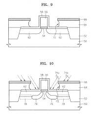 patent us20040219724 methods of fabricating mos field effect patent drawing