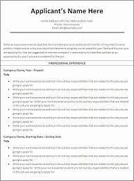 ... Effective Resume Samples Unique Effective Resume Templates A  Professional Resume Template for A ...