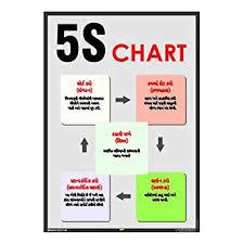Mr Safe 5s Chart In Gujarati Poster Sunboard A3 11 7