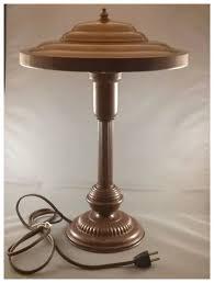 vintage metal desk lamp. Wonderful Vintage Vintage Metal Industrial Mid Century Modern U0027Flying Sauceru0027 Desk Lamp To B