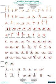 Ashtanga Poses Chart Ashtanga Yoga Primary Series Ashtanga Yoga Ashtanga Yoga