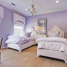 Purple Shared Girls Bedroom, Transitional, Girl's Room