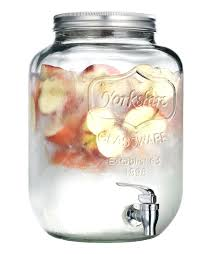 2 gallon mason jars 2 gallon mason jar glass beverage dispenser server drink lemonade wedding party