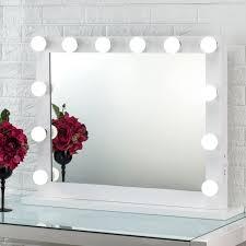 joyful hollywood makeup mirror wall mounted dressing illuminated cosmetic mirror tabletop vanity mirror