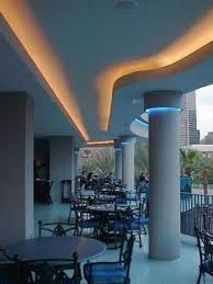 cove lighting ideas. The Aquarium In Houston Texas Used Phantom Linear Cove Lighting Products To Outline A Series Of Decorative Coves Over Exterior Dining Areas Ideas