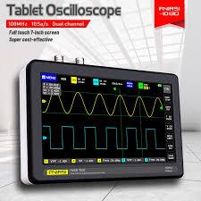FNIRSI 1013D Kỹ Thuật Số Máy Tính Bảng Máy Dao Động Ký Kênh Đôi 100M Băng  Thông 1GS Tỷ Lệ Lấy Mẫu Máy Tính Bảng Mini Kỹ Thuật Số Dao Động  Ký Oscilloscopes