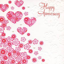 Pictures Of Hearts And Flowers Hearts And Flowers Anniversary Card