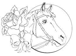 Wild Horse In Horses Coloring Page Mustang Pages Herd Printable Race