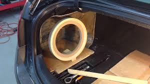 Gs Designs Subwoofer Lexus Gs Fiberglass Subwoofer Box Part 1 Youtube Custom