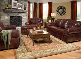 Thomasville Leather Sofa Cymun Designs - Leather furniture ideas for living rooms