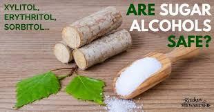 Sugar Alcohol Chart Sugar Alcohols Erythritol Xylitol Sorbitol And More