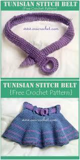 Crochet Belt Pattern Interesting Design Inspiration