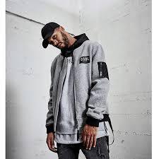 Cayler Sons Bl Csbl Flight Jacket Grey Black