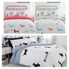 pooch dog duvet quilt cover pillow case