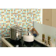 kitchen wall mosaic crystal glass tiles multi color s kitchen mosaic art wall floor decor candy
