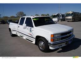 1997 Summit White Chevrolet C/K 3500 C3500 Crew Cab Dually ...