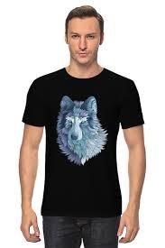 <b>Футболка классическая Beautiful</b> wolf #2214181 от ...