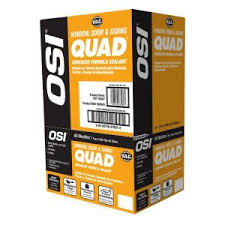 Quad Caulk Color Chart Osi 10 Fl Oz 004 White Quad Advanced Formula Window Door And Siding Sealant 12 Pack 1637191 The Home Depot