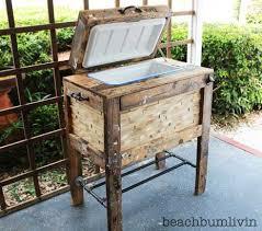rustic furniture diy. Rustic Cooler Box From Recycled Pallets - Beachbumlivin Furniture Diy I