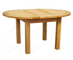 gannons furniture orland oak round extension dining table only