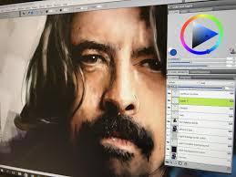 Digital Portrait Painting Digital Painting Portrait Computer Art 1