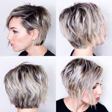 Hairstyle View Short Hair Styles Round Faces Curly Very Easy Edgy