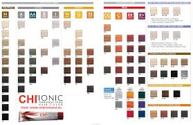 Chi Color Chart 6rr In 2019 Chi Hair Color Hair Color