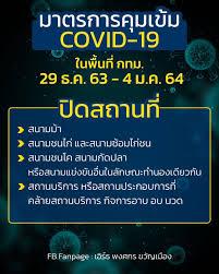 กรุงเทพมหานคร' สั่งปิด 4 สถานจุดเสี่ยง สกัด 'โควิด-19' ระบาด เริ่มพรุ่งนี้!