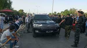 """تونس: حزب النهضة يندد """"بانقلاب على الثورة"""" ورئيسه الغنوشي يعتصم أمام  البرلمان"""